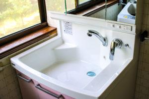 五泉市金津屋の洗面台リフォーム3