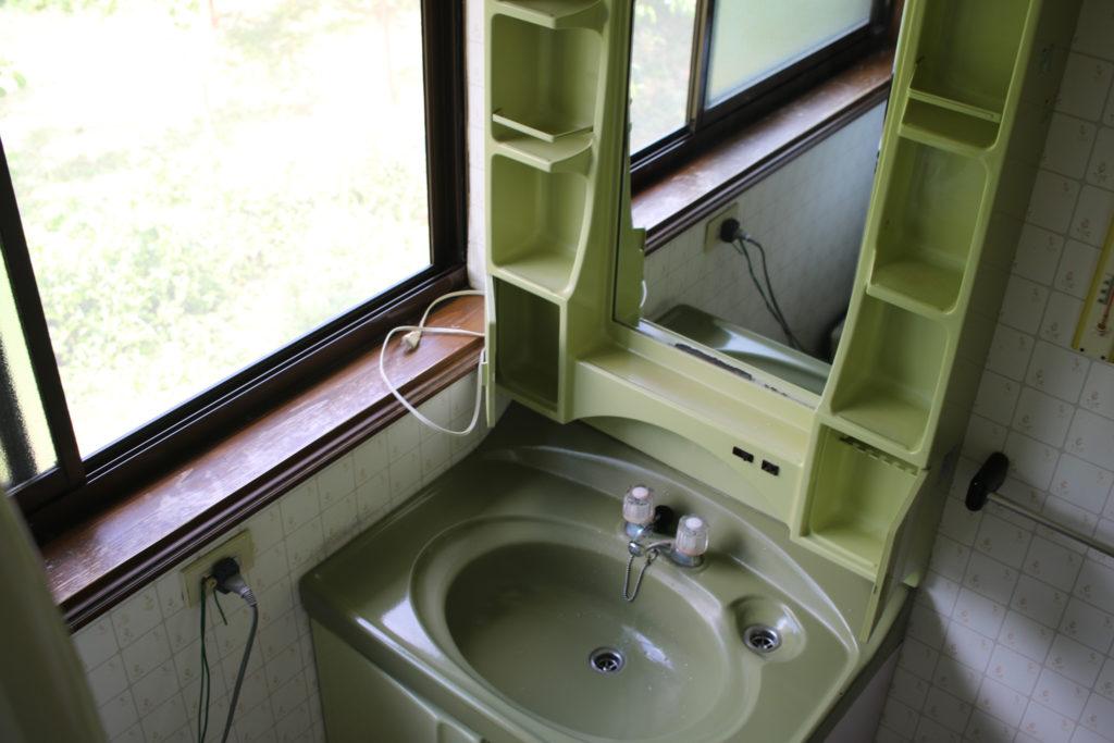 五泉市リフォーム 洗面台