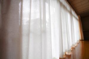 【五泉市】「カーテン」と「間仕切り戸」を新調!どちらもオーダーメイドでぴったり寸法!