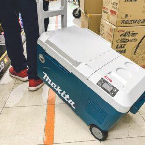 【キャンプなどに】マキタの充電式保冷温庫CW001GZが新発売!
